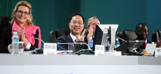 Le chef de la Conférence de l'UIT sera président du Conseil en 2015