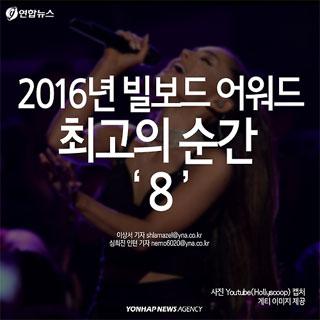 [카드뉴스] 2016 빌보드 뮤직 어워드, 최고의 순간 '8'