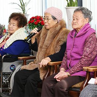 [포토무비] '이제는 39명뿐' 얼마 남지 않은 위안부 할머니 시계