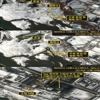 북한 영변 원자로 재가동 조짐