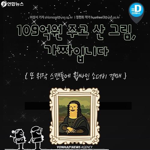 [카드뉴스] 109억원 주고 산 그림, 가짜입니다