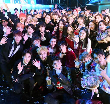 엑소, 서울가요대상 4년 연속 대상
