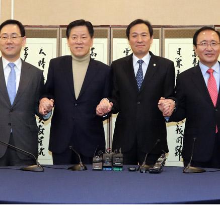 """野4당 """"黃권한대행, 특검연장 수용해야""""…한국당 국회복귀 촉구"""