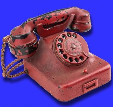 히틀러가 사용한 전화기
