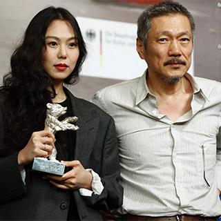 [포토무비] '불륜설' 김민희·홍상수, 베를린영화제서 당당한 행보