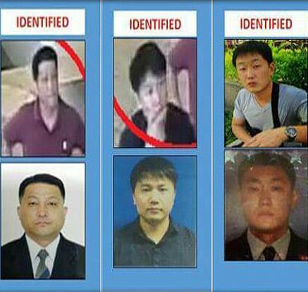 말레이 경찰 추가 발표 용의자 3명