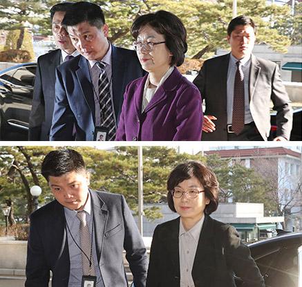 삼엄해진 헌법재판관 경호