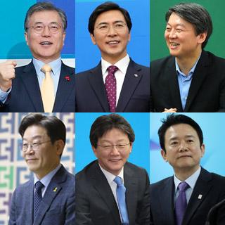 [포토무비] '벚꽃대선' 가시화…바빠진 대선주자들