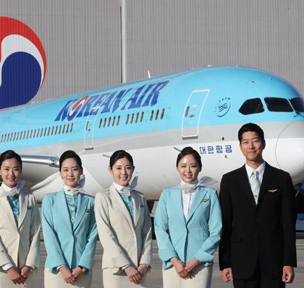 대한항공, 차세대 항공기 보잉 787-9 공개