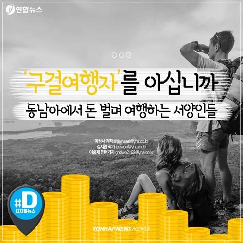 """[카드뉴스] """"경비 지원 부탁!"""" 구걸 여행자를 아시나요"""