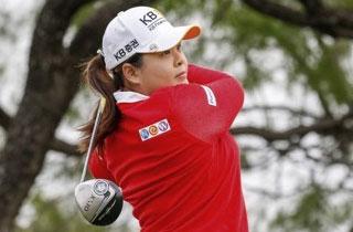 박인비, LPGA 텍사스 슛아웃 2R 선두권 도약