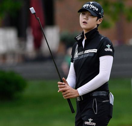 박성현 볼빅 챔피언십 '1타 차' 공동 2위 준우승