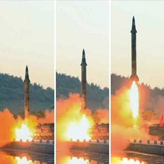 [포토무비] 北 미사일 발사…文정부 남북 회복 손짓에 '찬물'