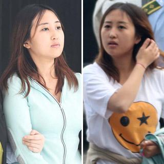 [포토무비] 도피 245일 만에 송환길 오른 정유라…'스마일 티셔츠' 논란