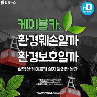 [카드뉴스] 설악산에 케이블카 추진…환경훼손일까 환경보호일까