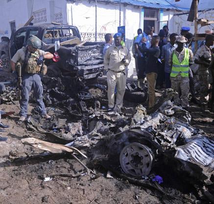 소말리아서 차량폭탄 테러…5명 사망·10명 부상