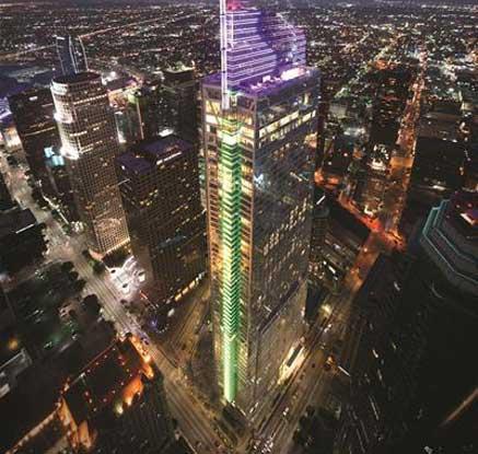 미국 LA 새로운 '랜드마크' 윌셔 그랜드 센터
