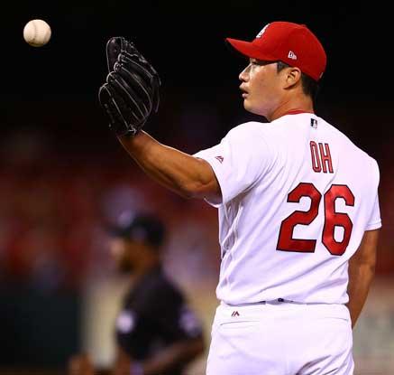 오승환, 홈런 맞고 1이닝 1실점…시즌 4패째