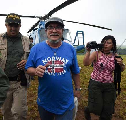 콜롬비아 반세기 내전 끝난다…반대반군 무기인도 완료