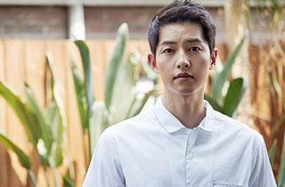 """'군함도' 송중기 """"또 군인 역할? 내적·외적 가벼움 모두 뺐죠"""""""