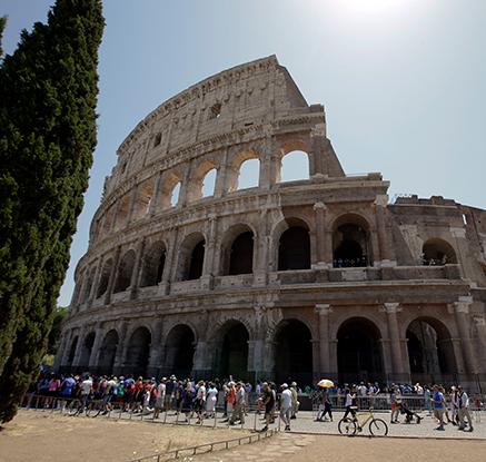 伊로마 '상징' 콜로세움, 고고학공원으로 거듭난다