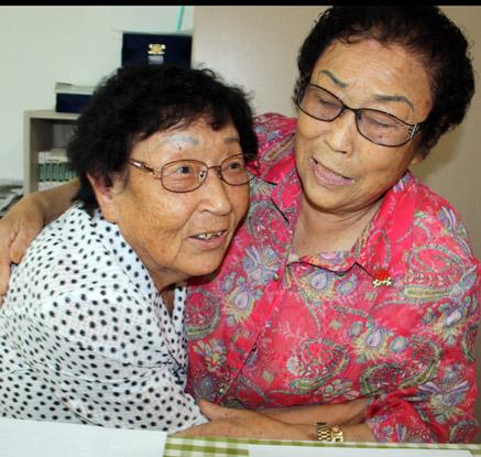 할머니가 되어 다시 만난 일제강제노역 소녀들
