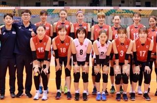 한국 여자배구, 아시아선수권서 중국 꺾고 동메달