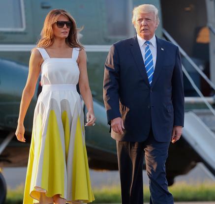 트럼프, 17일 휴가 마친 후 워싱턴 귀환