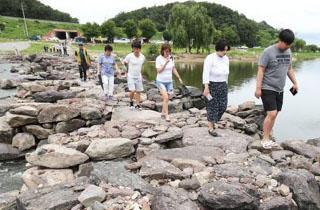 '천년의 돌다리' 진천 농다리 일대 생태공원 조성