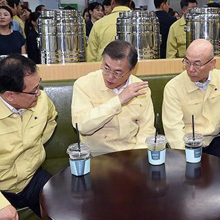 [포토무비] 확 달라진 업무보고 풍경…'보고' 아닌 '토론'