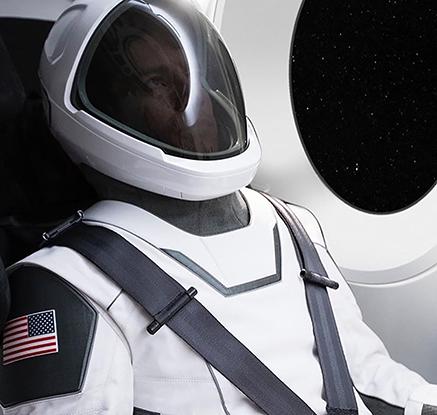 머스크, 스페이스 X 우주비행복 공개