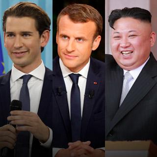 [포토무비] 30대에 권력을 거머쥔 세계의 젊은 지도자들