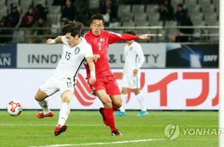 한국, E-1 챔피언십 남북대결서 상대 자책골로 1-0 승리