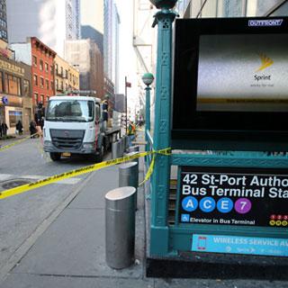 [현장영상] 미국 맨해튼서 '폭탄테러'…용의자 포함 4명 부상