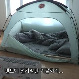 [현장영상] 아파트 주민들이 안방에 텐트 치고 사는 이유는