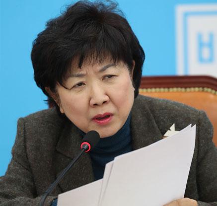 자유한국당 복당 선언한 박인숙