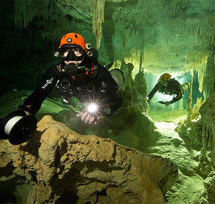 멕시고 유카탄 반도서 세계 최장 347km 수중동굴 발견