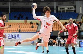 한국 남자핸드볼, 오만 꺾고 아시아선수권 결선리그 첫 승