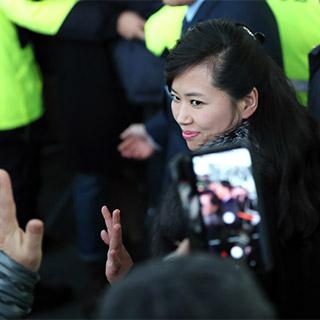 [포토무비] 현송월 이끄는 北예술단 점검단 1박2일 일정