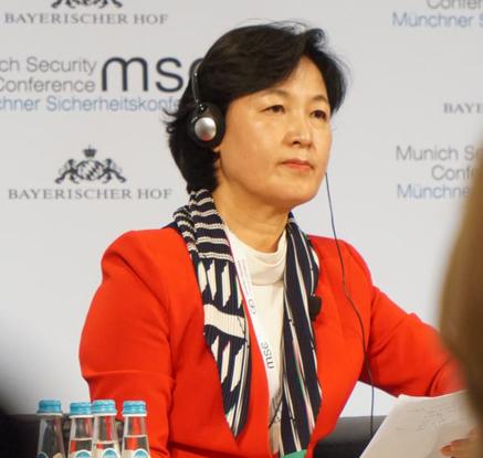 뮌헨안보회의 참석한 추미애 대표