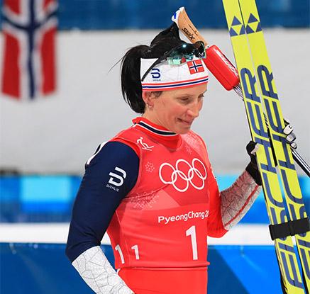 비에르옌, 동계올림픽 역대 최다 메달 경신