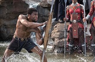 영화 '블랙 팬서' 기록행진…주말 흥행도 역대 3위