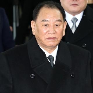 [현장영상] 김영철 '천안함' 질문에 '묵묵부답'…北고위급대표단 방남