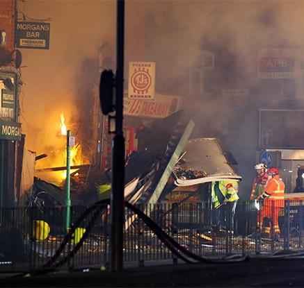 """영국 레스터 중심가서 폭발…""""테러 징후 없어"""""""