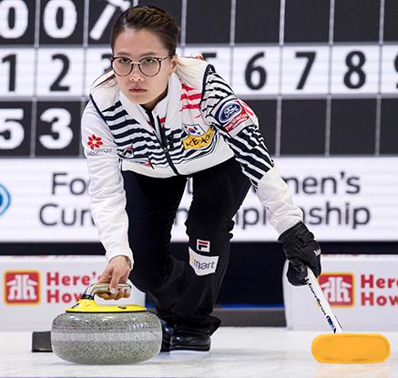 여자컬링, 세계선수권서 중국에 12-3 완승