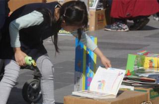 광화문광장이 서재와 도서관으로…'세계 책의 날' 축제