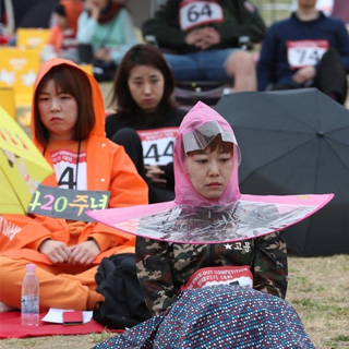 한강 '멍 때리기' 대회 올해도 열려…중학생 우승