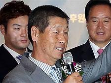 한화 사령탑 선임 김성근 감독