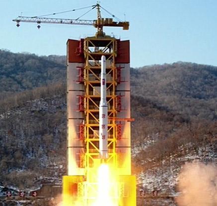 북한, 장거리 미사일 발사