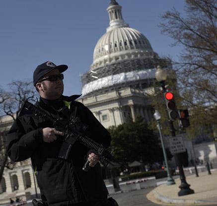 미국 워싱턴 국회의사당서 총격사건